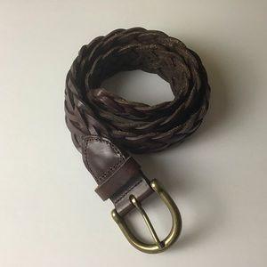 Gap Braided Leather Belt